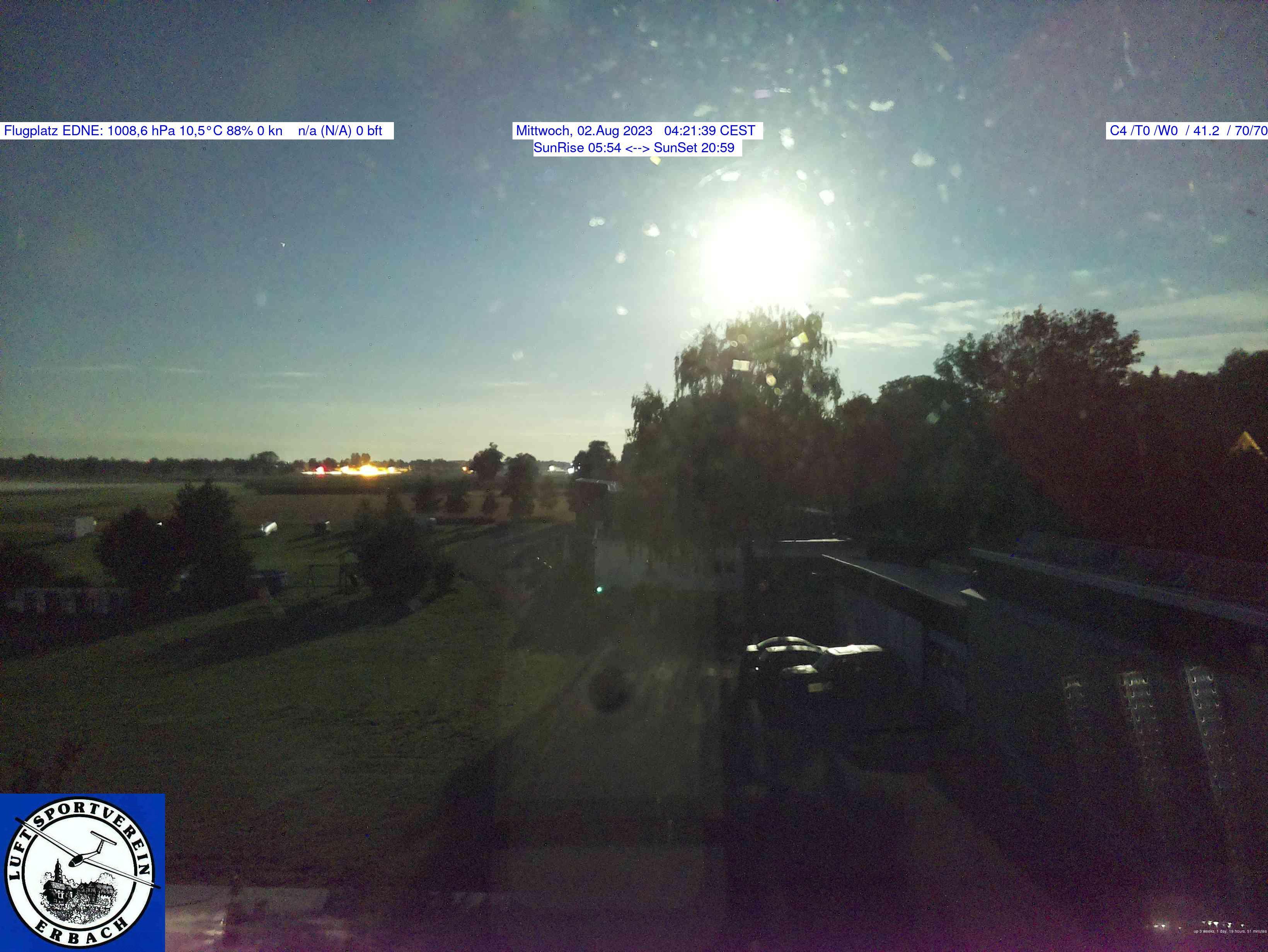 Erbach Flugplatz EDNE SW